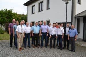 Die Teilnehmer an der Beteiligungsversammlung der ILE Passauer Oberland am 5. Juli 2018 in Aicha vorm Wald